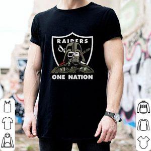 Darth Vader Oakland Raiders One Nation Star Wars shirt