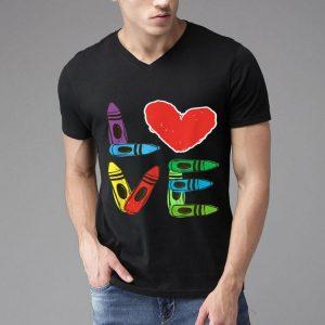 Preschool Teacher Valentines Day Love shirt
