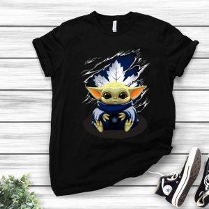Star Wars Baby Yoda Blood Inside Toronto Maple Leafs shirt