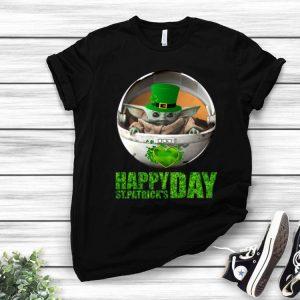 Star Wars Baby Yoda Happy St Patrick's Day shirt