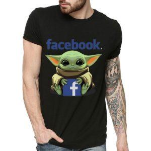 Star Wars Baby Yoda Hug Facebook shirt