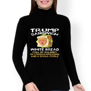 Trump Sandwich White Bread Full Of Baloney shirt
