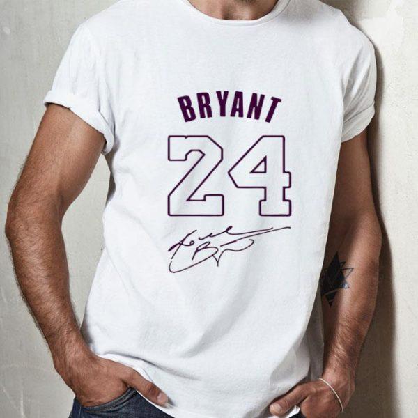 24 Kobe Bryant Signature shirt