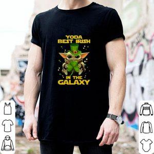 Awesome Baby Yoda Best Irish In The Galaxy Star Wars shirt