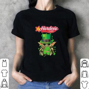 Awesome Baby Yoda Hardee's St.Patrick's Day Star Wars shirt 2