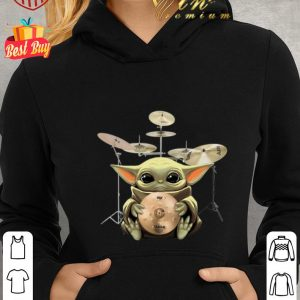 Awesome Baby Yoda Hug Drum Star Wars shirt