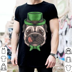 Awesome Irish Pug St. Patricks Day shirt