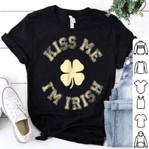 Awesome Kiss Me I'm IRISH St Saint Patrick's Day shirt