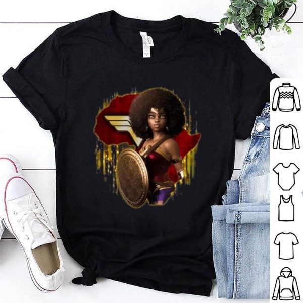 Black Girl Wonder Woman shirt