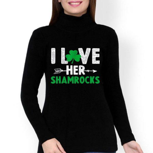 I Love Her Shamrocks St. Patrick's Day shirt