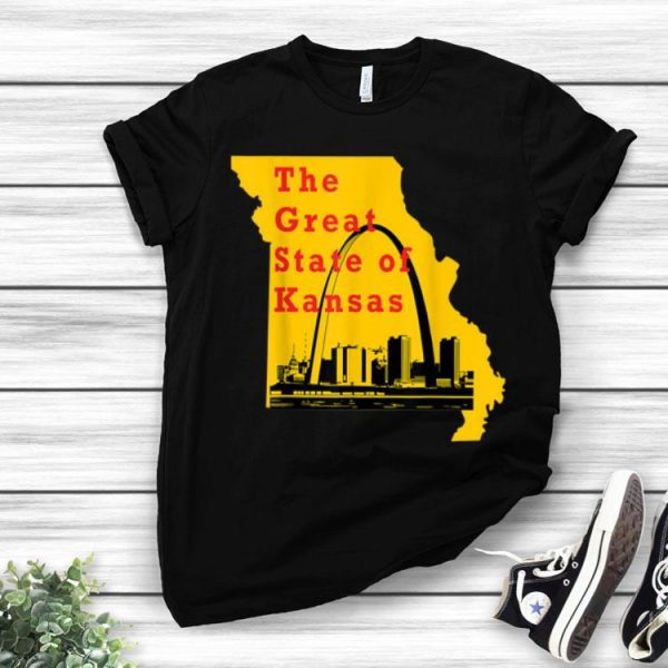 Kansas City Chiefs The Great State Of Kansas Trump shirt