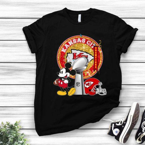 Mickey Mouse Super Bowl Champions Kansas City Chiefs shirt