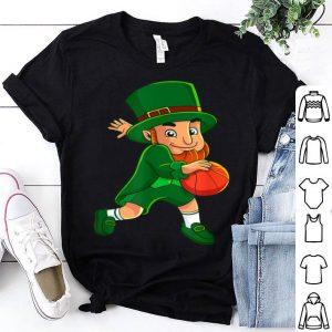 Nice Leprechaun Basketball St Patrick's Day Gift Boys Men shirt