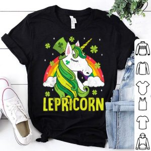 Official Unicorn Magical St Patricks Day Lepricorn Girl Women Costume shirt