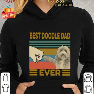 Pretty Vintage Best Doodle Dad Ever shirt