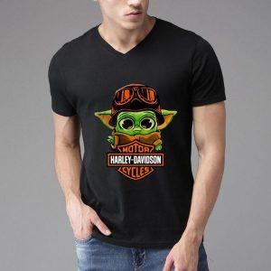 Star Wars Baby Yoda Motor Harley Davidson Cycles shirt