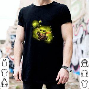 Awesome Baby Yoda against Coronavirus Covid19 Star Wars shirt