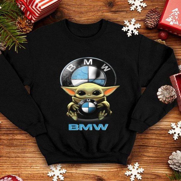 Baby Yoda Hug BMW shirt