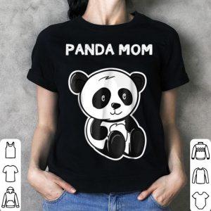 Beautiful Cute Panda Mom - Panda Lover Mama Bear Women Tee shirt