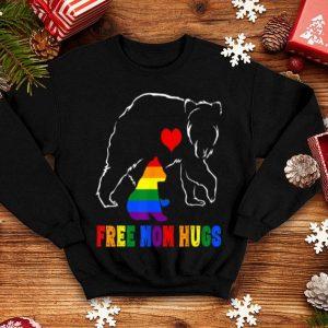 Beautiful Free Mom Hugs - Lgbt Mom Mama Bear Rainbow Gift shirt