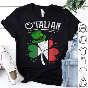 Beautiful O'talian Funny Italian Irish Relationship St Patrick's Day shirt