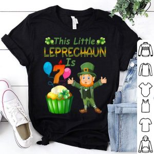 Beautiful This Leprechaun Is 7 Year Old Birthday St Patricks Day shirt