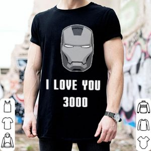 I Love You 3000 Iron Man Stark Avengers shirt