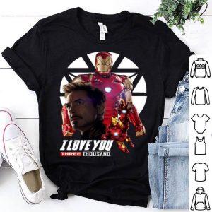 Iron Man I love you three thousand Endgame shirt