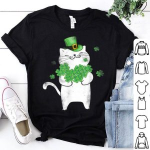 Nice Cat Leprechaun Cat Lover Shamrock St Patrick's Day shirt