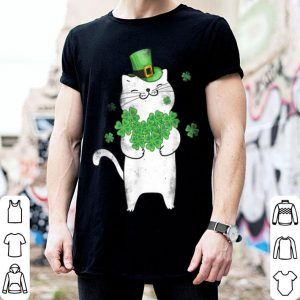 Nice Cat Leprechaun Cat Lover Shamrock St Patrick's Day shirt
