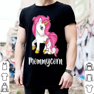 Official Premium Mommycorn Unicorn Mom And Baby Mother's Day shirt