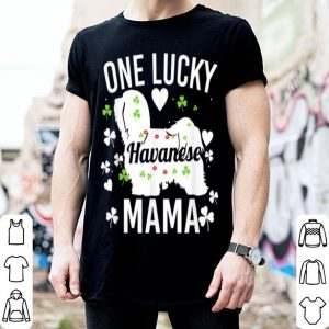 Official Premium Womens Havanese Mama St Patrick Day Funny Mom Mother Gifts shirt