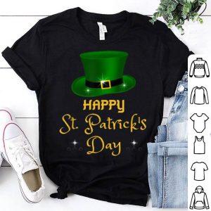 Original Happy St Patricks Day St Pattys Hat Green Irish Men Women shirt