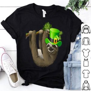Original Leprechaun Sloth Lovers Gift St Patricks Day Sloth Funny shirt