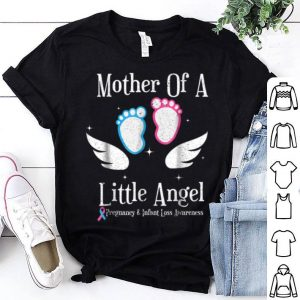Original Mother Of A Little Angel Pregnancy And Infant Loss shirt