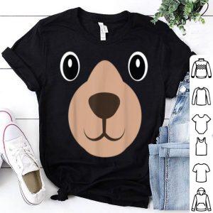 Premium Halloween Mama Bear Face Costume Kids Bear Face Costume shirt