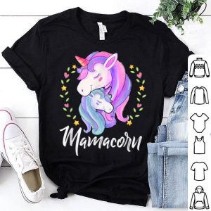 Premium Mamacorn Unicorn And Baby Family Mother's Day Gifts shirt