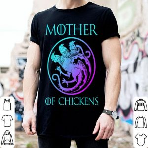 Premium Mother Of Chickens Mothers Day Gift Chicken Mom Turkey shirt