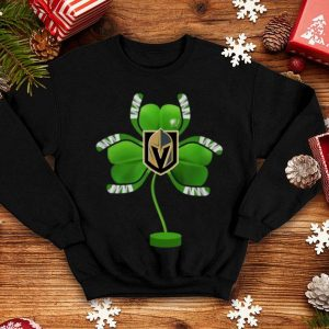 Premium Patrick Day Irish Shamrock Hockey Tree Vegas-golden-knight shirt