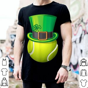 Premium St Patrick's Day Tennis Leprechaun Lucky Shamrock Gift shirt