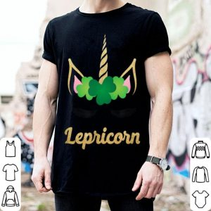 Pretty Unicorn St. Patrick's Day Lepricorn Cute Girls shirt