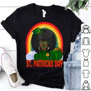 Top African American Female Leprechaun St. Patrick's Day shirt