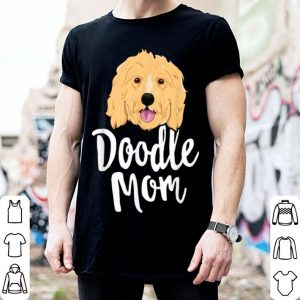 Top Doodle Mom Women Goldendoodle Dog Puppy Mother shirt