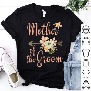 Top Mother Of The Groom - Wedding Party - Pretty Floral shirt