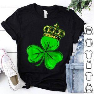 Top St Patricks Day Shamrock Irish Clover Costume Gift shirt