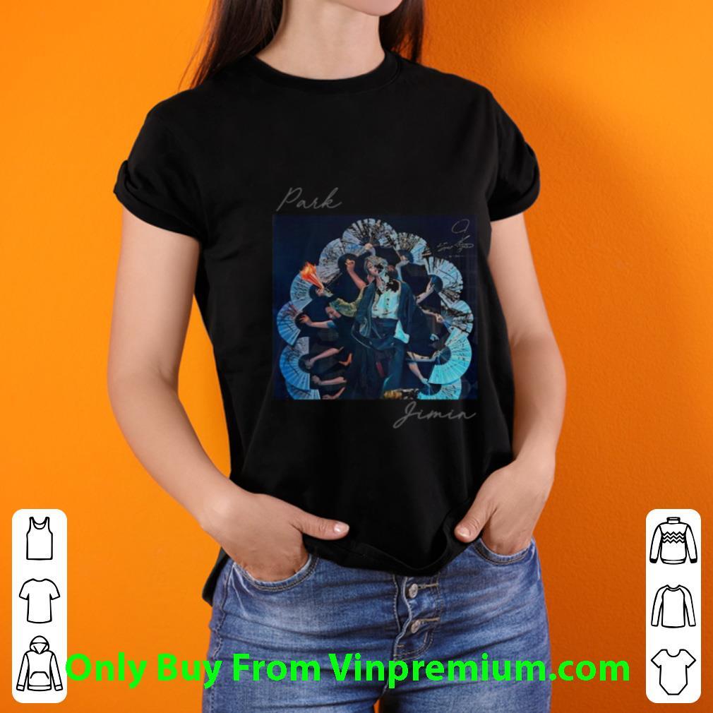 Premium Bts Band Park Jimin Signature shirt