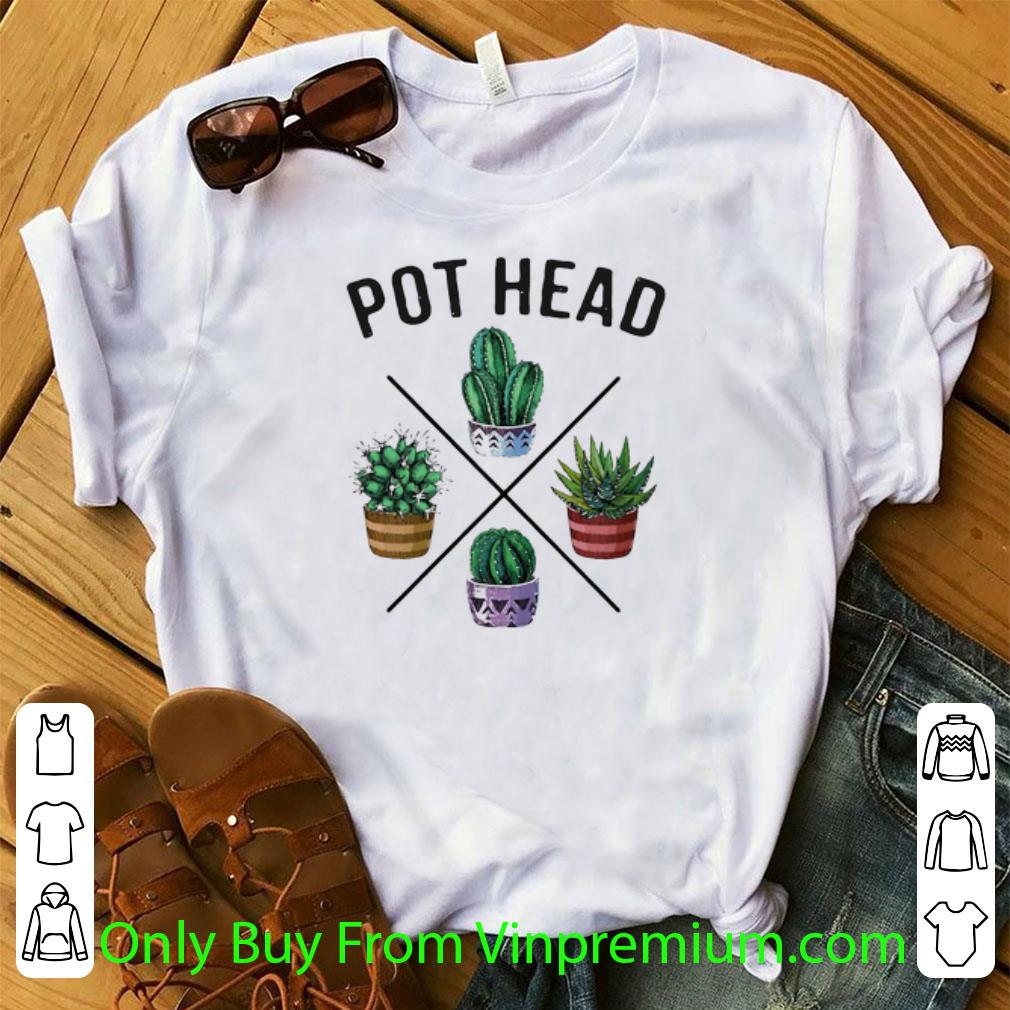 Awesome Cactus Pot Head shirt