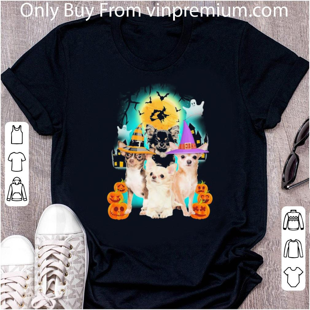 Hot Chihuahua Halloween Dog Lover shirt