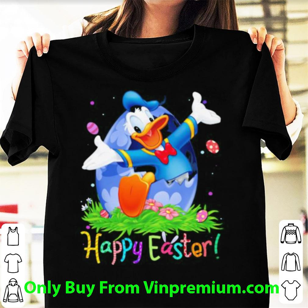 Great Disney Donald Duck Happy Easter Flower shirt