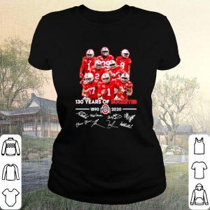 Best 130 Years Of Ohio State Buckeyes 1890 2020 Signatures shirt
